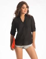 PrettySecrets Women's Solid Casual Shirt - SHTE2GV4MR8YGSJN