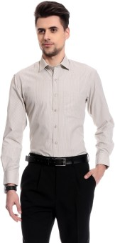 Club Avis USA Men's Self Design Formal Reversible Shirt