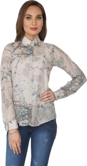 From The Ramp Women's Printed Casual Shirt