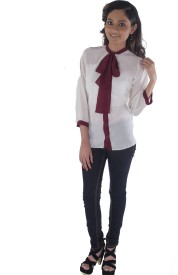 Buenos Dias Women's Solid Formal Shirt