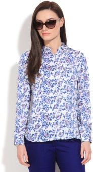 Pepe Jeans Women's Printed Casual Shirt