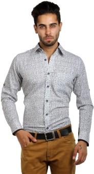S9 Men Men's Printed, Paisley Festive, Party, Wedding, Casual Shirt