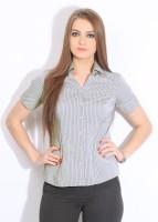 Park Avenue Women's Striped Formal Shirt