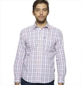 American Swan Men's Checkered Casual Shirt