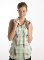 Bombay High Women's Checkered Casual Shirt - SHTDXDM4A3DTGEZW