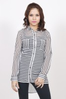 Stilestreet Women's Striped Casual Shirt