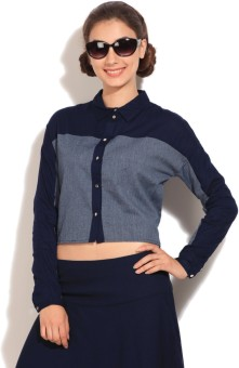 Vero Moda Women's Solid Casual Shirt - SHTE8FHYBHPY3D6H