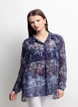 Oxolloxo Trendy Hot Fix Women's Printed Casual Shirt