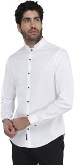 Karsci Men's Self Design Lounge Wear Shirt