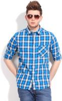 Indian Terrain Men's Checkered Casual Shirt - SHTDVJ98FGYFDUZG