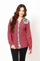 Rena Love Women's Striped Casual Shirt