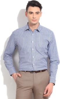 Max Men's Checkered Formal Shirt
