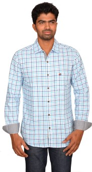 Classy Casuals Men's Checkered Casual Shirt - SHTE8RHSMNA38YHZ