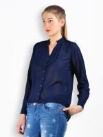 MySin Women's Self Design Party Shirt - SHTDZ4X96TZRY2KS