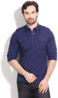 Calvin Klein Men's Solid Casual Shirt