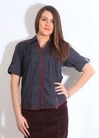 Park Avenue Women's Solid Formal Shirt