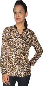 Modo Vivendi Women's Printed Casual Shirt