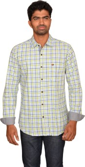 Classy Casuals Men's Checkered Casual Shirt