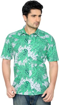 Thinc Men's Floral Print Beach Wear Shirt
