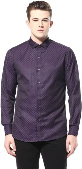 F Factor By Pantaloons Men's Printed Party Shirt