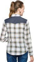 Max Women's Checkered Casual Shirt - SHTDZEHWDH6ACG4Z