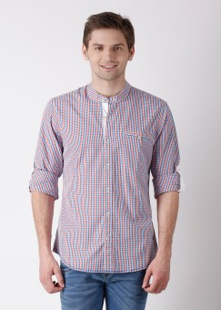 Compare United Colors of Benetton Men Checkered Casual Shirt: Shirt at Compare Hatke