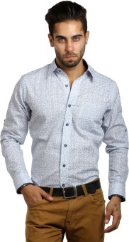 S9 Men Men's Printed, Paisley Festive, Party, Wedding, Casual Shirt
