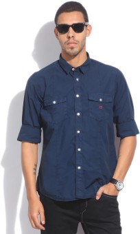 Van Heusen Sport Men's Solid Casual Shirt
