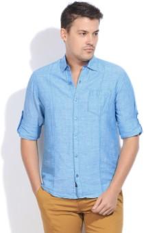 The Indian Garage Co. Men's Solid Casual Shirt - SHTDZEFKRVRZNCXN