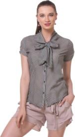 Kaaryah Women's Striped Formal Shirt
