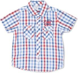 Max Boy's Checkered Casual Shirt - SHTE4BF5PUQ4GCGW