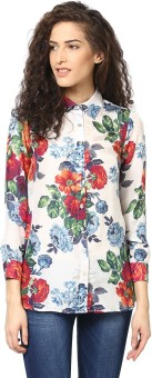 Love From India Women's Floral Print Casual Shirt - SHTE7T4YQVJ7GZFZ