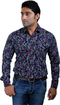 Discountgod Men's Graphic Print Casual Shirt