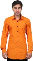 Native Age Men's Solid Casual Shirt