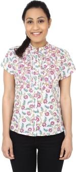 Samprada Floral Grace Women's Printed Casual Shirt