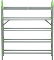 Nilkamal Carbon Steel Standard Shoe Rack (Green, 5 Shelves)