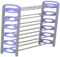 Nilkamal Sleek Carbon Steel Standard Shoe Rack (Blue, 6 Shelves)
