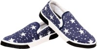 Ethics Blue-Star Canvas Shoes
