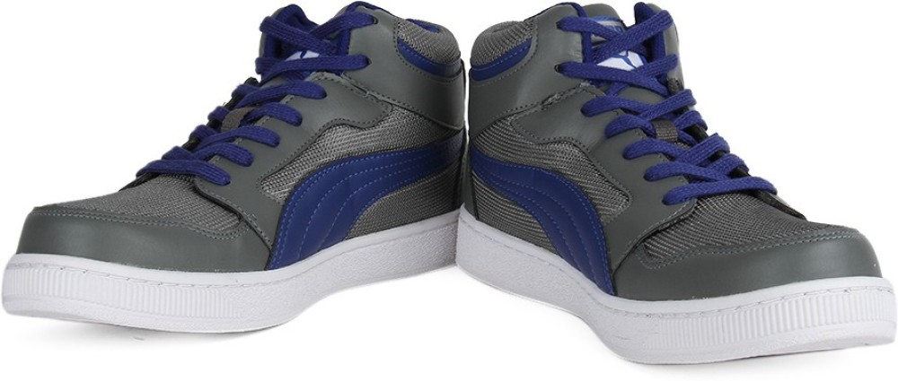 Puma Men Mid Ankle Sneaker Blue Grey