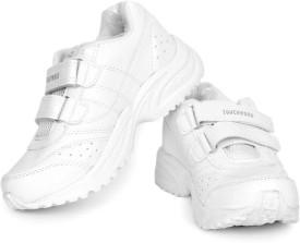 TOUCHWOOD KIDS UNISEX SCHOLAR WHITE SCHOOL SHOE Running Shoes
