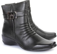 Do Bhai 978-626-Black Boots Boots