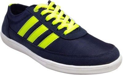 Vov Men Blue Canvas Shoes
