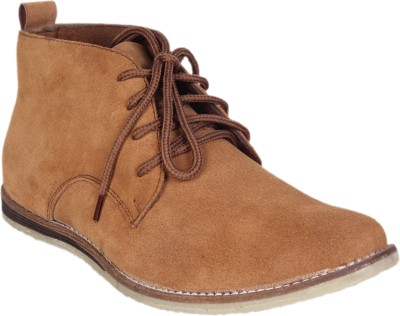 Kennady Tan Ankle Length Boots