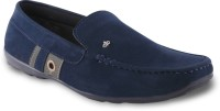 Adam Step Blue smart Loafers