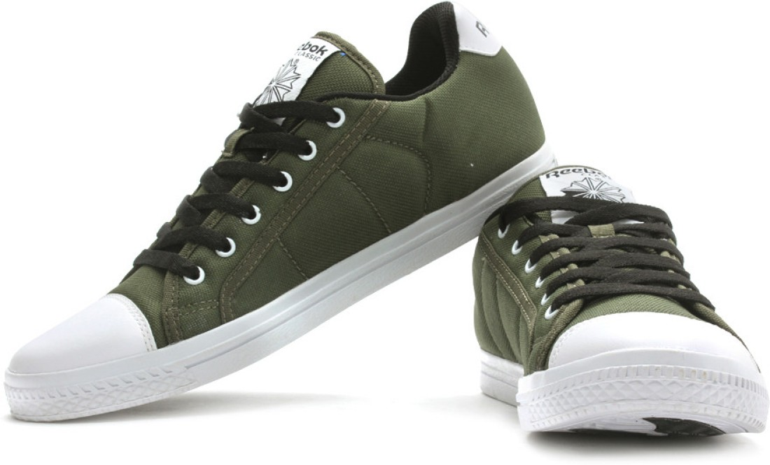 Get Extra 20% Off On Reebok On Court Lii Lp Canvas Shoe