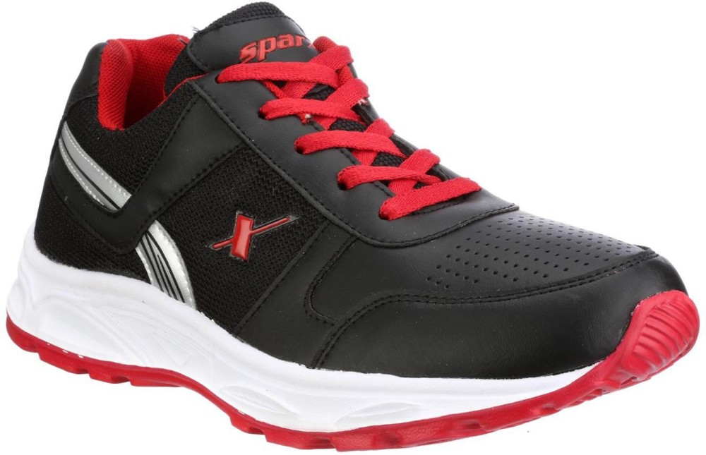 Sparx Running Shoes Black Red