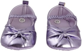 Pikaboo Mauve Ballerina Baby Shoes Bellies