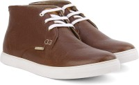 U.S. Polo Assn. Boots Tan, White