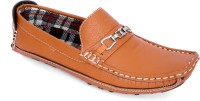 Woodlark Tan Synthetic Leather Loafers For Mens Loafers
