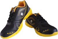 Elligator ELG-1436 Black & Yellow Stylish Running Shoes